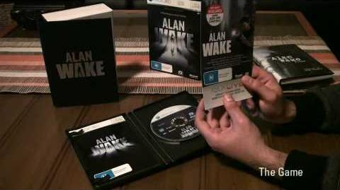 Alan Wake Limited Collector's Edition Unboxing