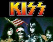 Kiss logo band