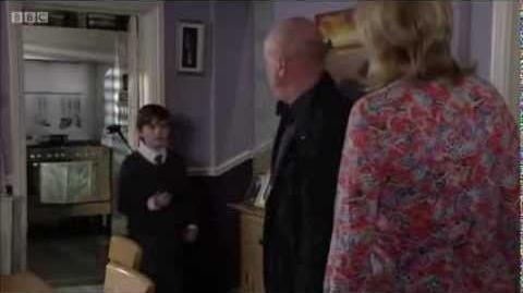 EastEnders - Bobby Beale Threatens Phil Mitchell (21st July 2015)