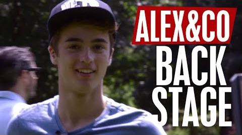 Alex & Co. - Backstage 1