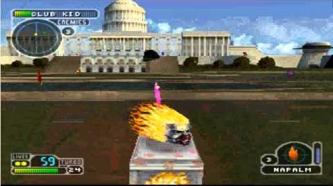 Twisted metal 3-La and Washington D.C-Sweet Tooth
