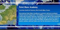 Point Blanc Academy