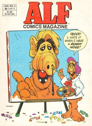 ALF Comics Magazine Digest 2