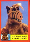 Card from trailer - ALF