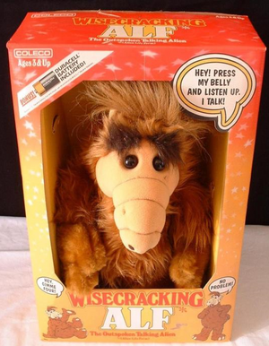 ALF talking doll front