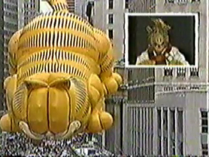 Macy's Thanksgiving Day Parade - ALF jokes about eating Garfield