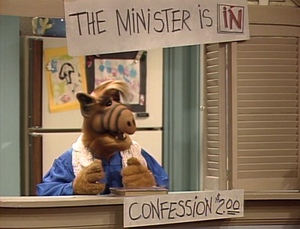 ALF becomes a minister