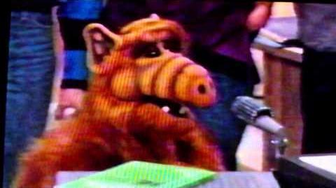 Rhonda on Skip's Spaceship - Scene from ALF