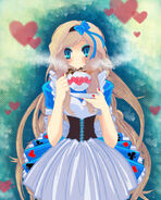 Alice In Wonderland by elrukuu