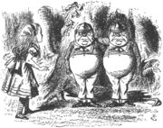Tweedledum tenniel