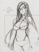 Female-Warrior-Sketch