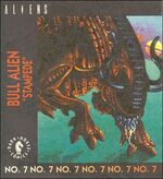 Bull Alien kenner comic