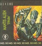 Mantis Alien kenner comic