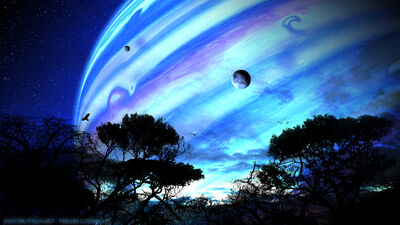 Avatar Pandora s View by frey84