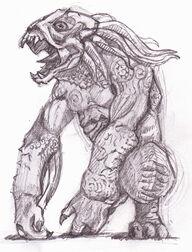 Sammael the Hellhound by tekuatl