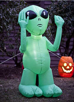 Alien Airblown Inflatable