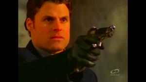 Rotekk prepares to shoot Cole