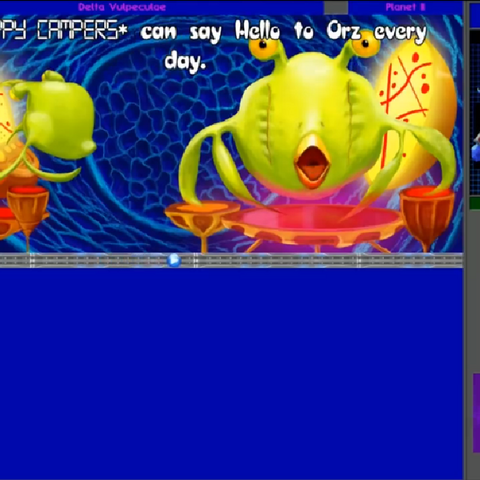 In this picture it shows the Orz in the Project 6014 game.