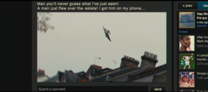 The 'Flying Man' of Peckham