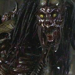 Patrick Ross in his quadrupedal alien form