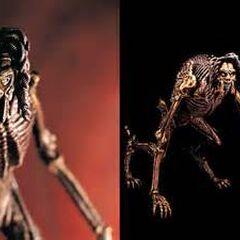 Patrick Ross in his quadrupedal alien form (Model figure.ver)