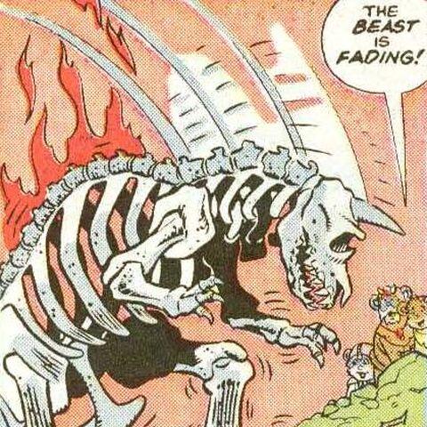A Kreegon skeleton.