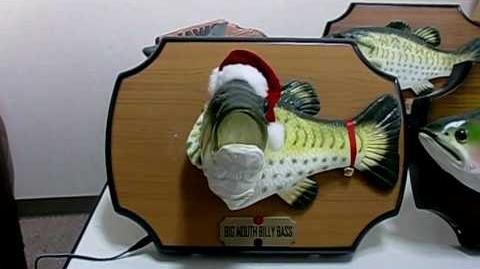 Christmas Big Mouth Billy Bass