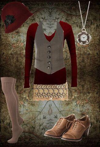 File:All about us inspiration fashion sierra jennings plaid dress.JPG