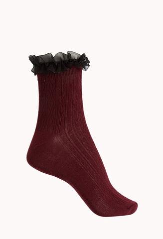 File:Burgundy-Black Classic Ruffled Socks.jpg