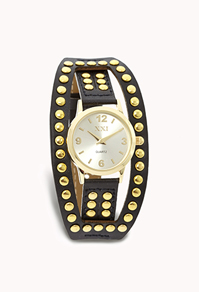 File:Edgy Studded Faux Leather Watch.jpg