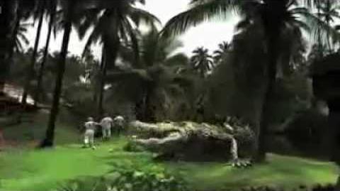 Dinocroc vs Supergator (2010) Trailer