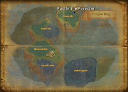 Rustle the Forester map