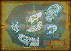 Froddy theFidget map
