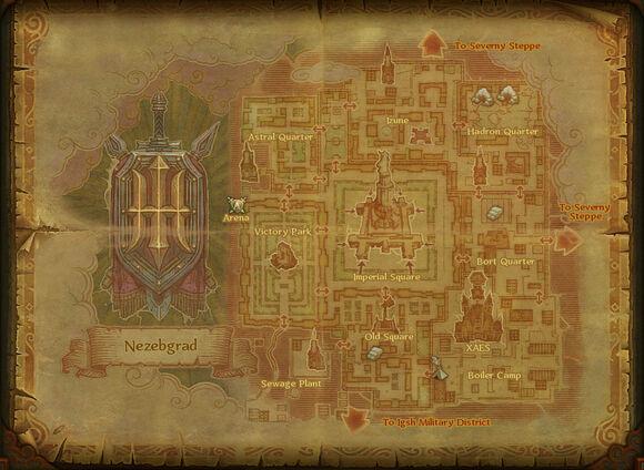 Map nezebgrad