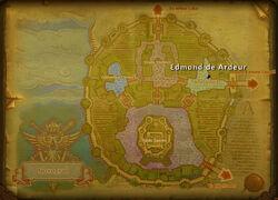 Edmond deArdeur map