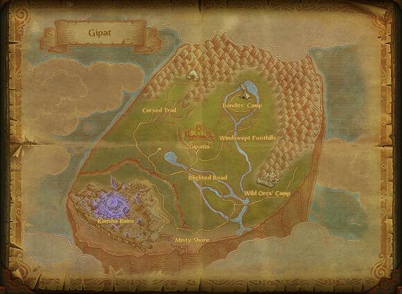 Map gipat