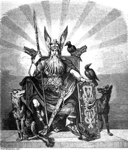 File:Odin, the Allfather of the Norse Gods.jpg