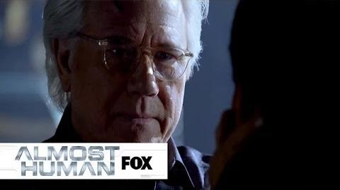 """Dorian Meets His Creator from """"Unbound"""" ALMOST HUMAN FOX BROADCASTING"""
