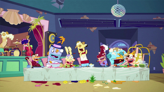 File:The Banana Cabana Crew having a feast.jpg
