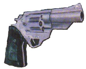 Aline's Silver Revolver