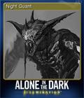 Alone in the Dark Illumination Card 6