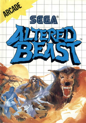 Altered Beast-Master System