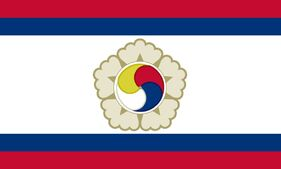 Greater Korean Republic Flag