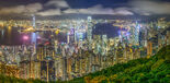 Hong Kong Skyline viewed from Victoria Peak 2