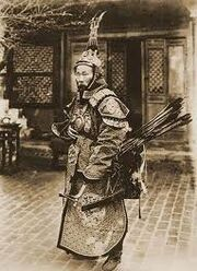Qing soldier