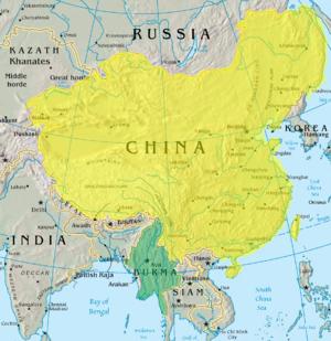 File:Qing and Konbaung before Sino Burmese War.png
