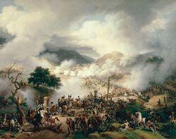 La bataille de Somo-Sierra