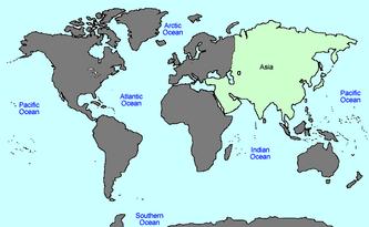 VINW World Map ASIA