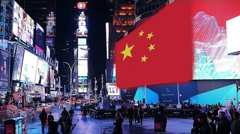 Chinese Propaganda in Times Square! China Uncensored
