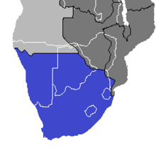 Location of South Africa (Nuclear Apocalypse)